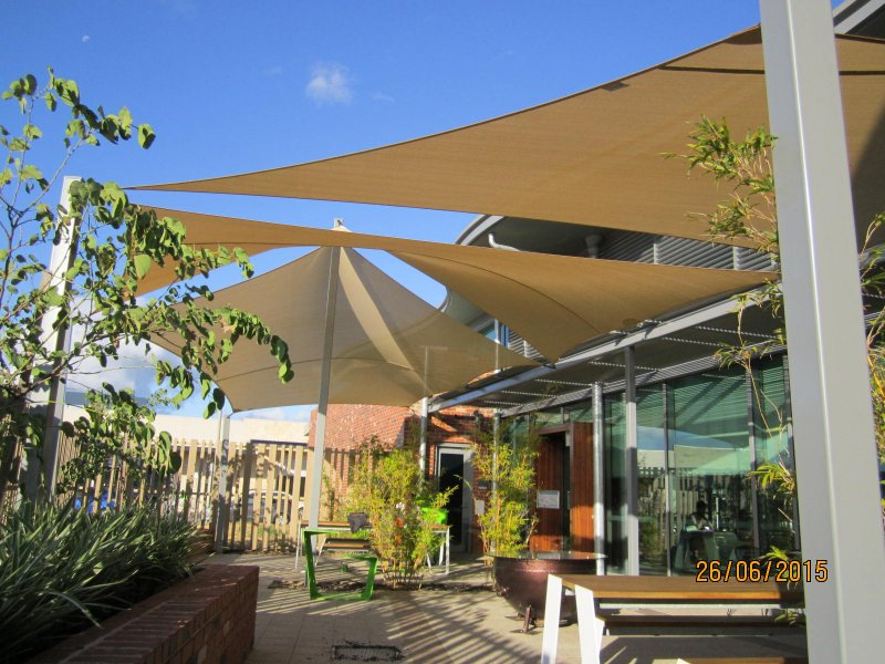 Commercial Shade Sails Amp Awnings Perth Aussie Coolshades
